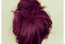 صبغ شعر احمر توتي/متألقة